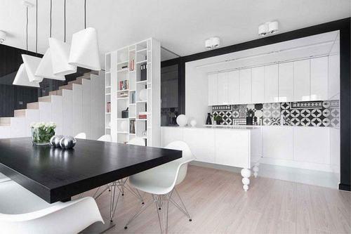Gạch ốp tường màu trắng mang lại vẻ đẹp sang trọng cho ngôi nhà bạn