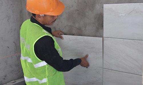 hướng dẫn ốp gạch tường 1