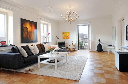 màu sơn tường phòng khách 7