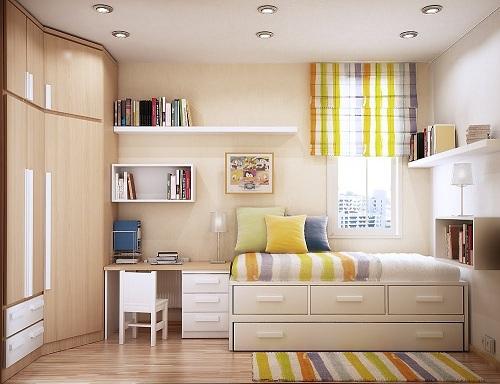 Những ý tưởng trang trí nhà nhỏ tạo không gian rộng rãi, thoáng đãng