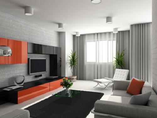 Có nên ốp gạch tường phòng khách? Bật mí những ý tưởng tuyệt vời