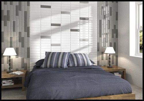 Có nên ốp gạch tường phòng ngủ? Tham khảo một số mẫu gạch ấn tượng