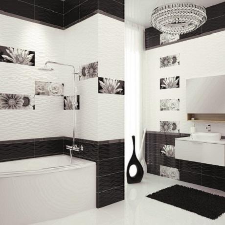 Ý tưởng thiết kế mới với gạch ốp tường màu trắng, tạo nét phá cách