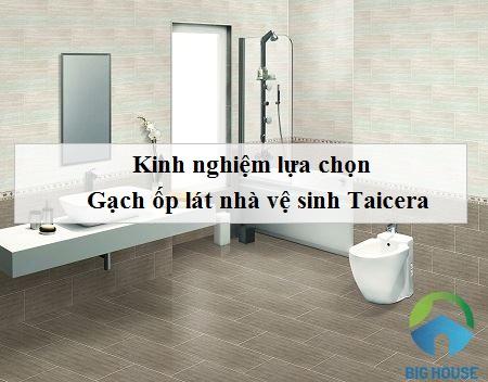 Mẹo chọn gạch ốp nhà vệ sinh Taicera Đẹp mắt – Chất lượng tốt nhất