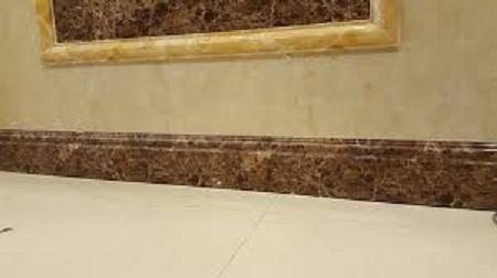 gạch ốp chân tường giả đá