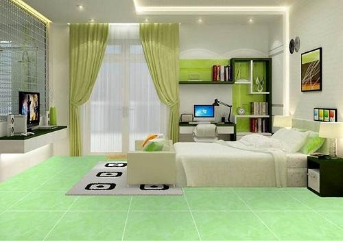 Nên chọn gạch lát nền màu gì cho phòng ngủ Đẹp, sang trọng, hiện đại