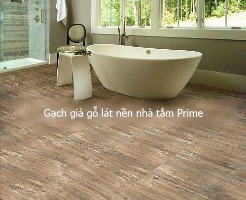 Gợi ý một số mẫu gạch lát nền nhà tắm Prime HOT nhất 2018
