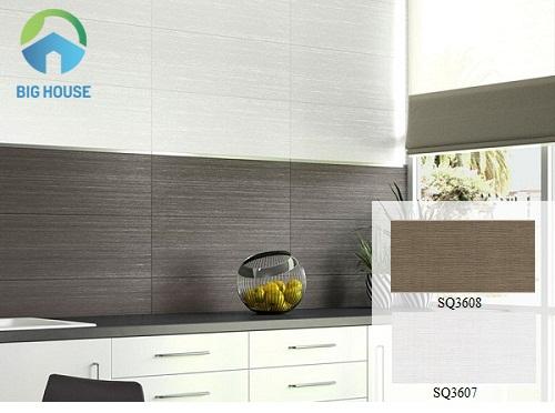 Căn bếp sẽ ấm cúng hơn với 3 mẫu gạch ốp tường bếp Viglacera