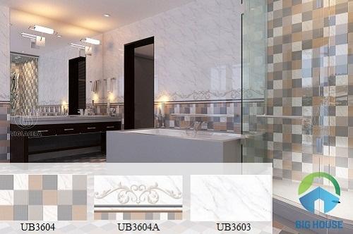 Top 3 bộ sưu tập gạch ốp nhà vệ sinh Viglacera ĐẸP VÀ CHẤT nhất