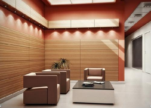 Ưu điểm vượt trội của gạch ốp tường phòng khách giả gỗ Viglacera
