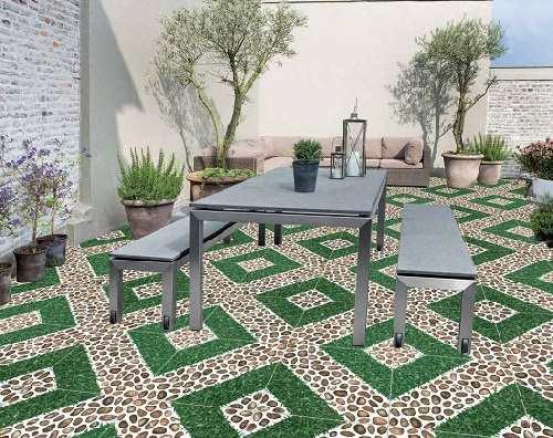 TOP 3 mẫu gạch lát sân vườn biệt thự SANG TRỌNG nhất 2018