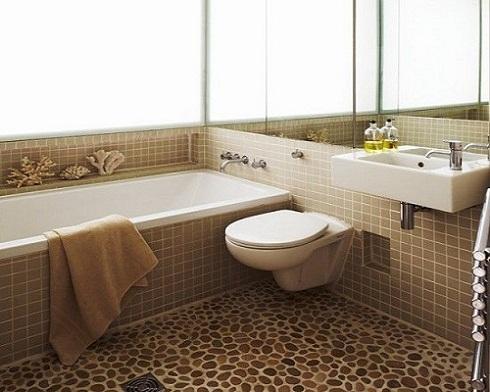Mẹo chọn gạch lát nền nhà tắm chống trơn an toàn nhất cho người dùng