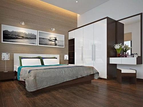 Tại sao nên chọn gạch giả gỗ phòng ngủ cho không gian hiện đại?