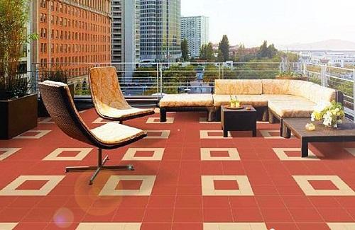 2 Mẫu gạch lát sân thượng chống nóng TỐT NHẤT cho các gia đình